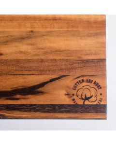 Cotton and Dust Tigerwood Cutting Board